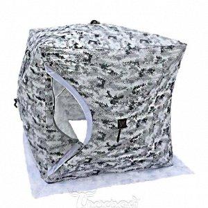 Палатка зимняя не утепленная, Цвет: Пиксель-зима 2,00*2,00*2,10м (2001А) Улов