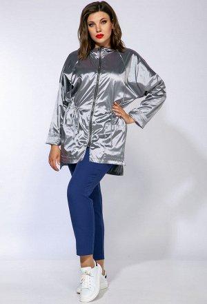 Куртка Anastasia Mak 876 серый