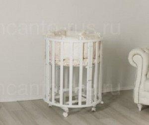 Маятник 2 в 1 для кроватки Uomo Da Vinci, цвет белый