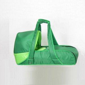 Люлька-переноска Фея, цвет зеленый