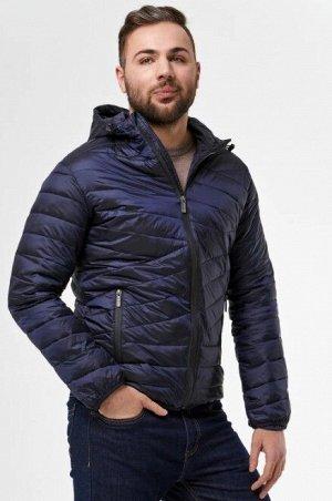 Мужская текстильная курткана искусственном пуху