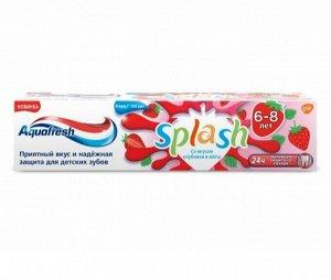 Зубная паста Aquafresh детская от 6-8 лет со вкусом клубники и мяты 50мл