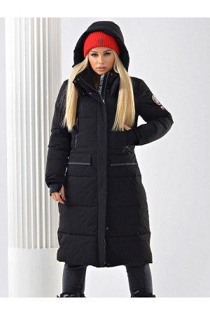 Женское пальто Azimuth В 20684_9 Черный