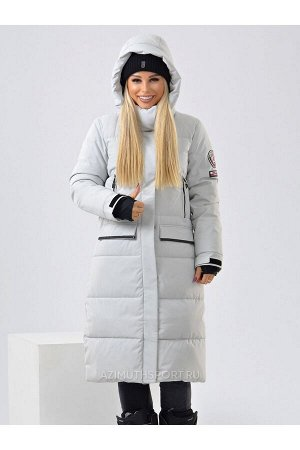 Женское пальто Azimuth В 20684_93 Белый