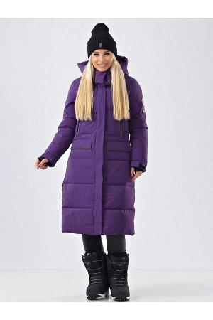 Женское пальто Azimuth В 20684_95 Фиолетовый
