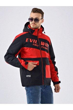 Мужская куртка Evil Wolf 9912 (SINT) Красный