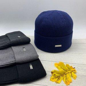 Шапка Классическая мужская шапка по голове с отворотом, которая подходит к пальто или строгому пуховику. Цветовая гамма выдержанна в строгих мужских цветах. Размер 57-59см. Состав: Хлопок 50% Полиакри