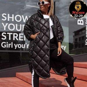Женская куртка на осень. Ткань плащёвка с холлофайбер