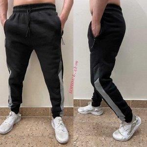 Спортивные брюки на флисе Маломерят на размер