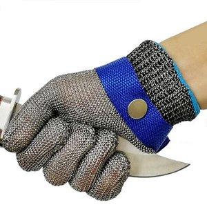Перчатка кольчужная размер М