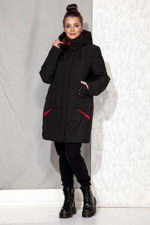Пальто Пальто Beautiful&Free 4065 черный  Состав: ПЭ-100%; Сезон: Осень-Зима  Полупальто женское, зимнее, из гладкокрашеной полиэфирной ткани с синтетическим наполнителем, который практически неощути