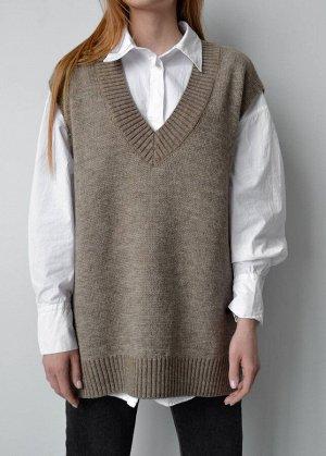 Жилет Трикотажные жилеты - базовый предмет женского гардероба, способный придать образу стильный, эффектный и элегантный облик. Жилет является универсальным, он подходит для повседневного ношения, офи