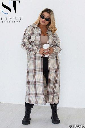 Пальто-рубашка 70643
