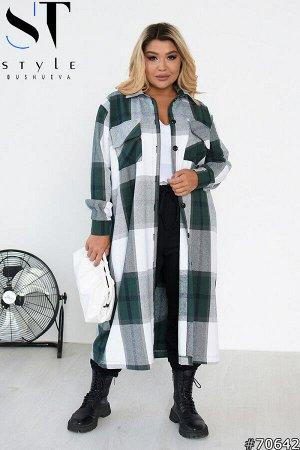 Пальто-рубашка 70642