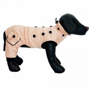 Комбинезон для собак с карманами розовый L Joy