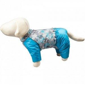 Комбинезон для собак Снежинка р.28, д.28 см, об.груди 46 см сука OSSO