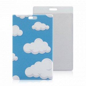 Чехол для карт (проездного) облака