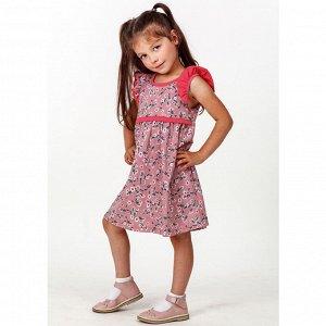 Платье кулирка 0198100201 для девочки
