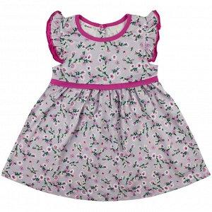 Платье кулирка 0198100202 для девочки