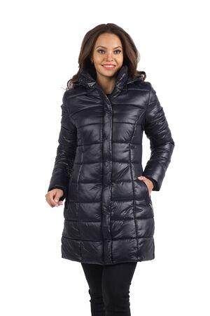 Куртка женская зимняя VL-104, черный