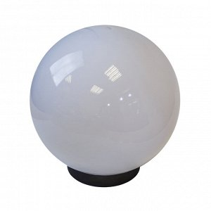 Светильник садово-парковый НТУ 02-60-201 ЭРА шар белый призма D200mm Е27
