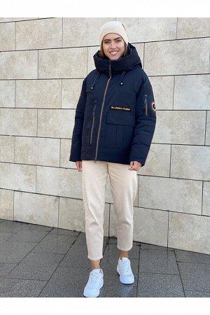 Женская куртка 9012-H8 черная