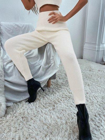 Зима близко! Утепляемся теплой и красивой одеждой — Вязаные брюки