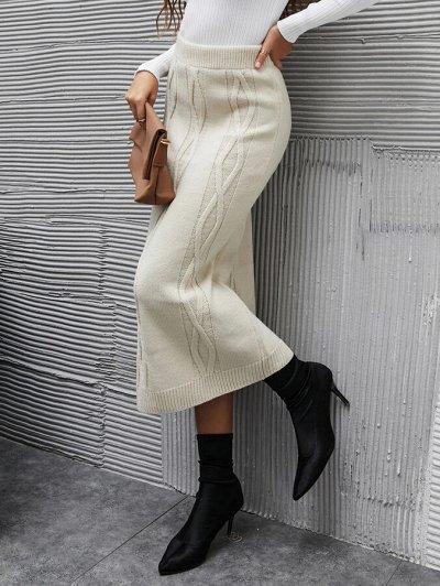 Зима близко! Утепляемся теплой и красивой одеждой — Вязанные юбки