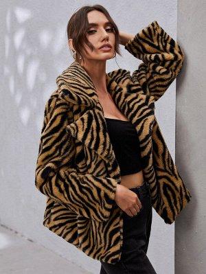 Животный Очаровательный Женские пальто из искусственного меха