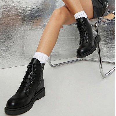 Шикарным Plus-size! Осенняя одежда, обувь, много интересного — Ботинки новинки