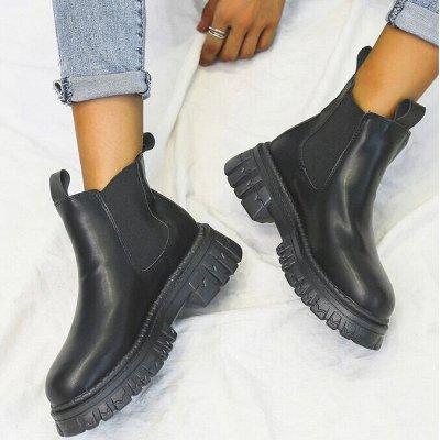Шикарным Plus-size! Осенняя одежда, обувь, много интересного — Ботинки