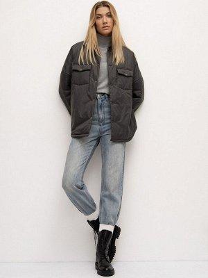 Куртка рубашечного кроя N012/fiss