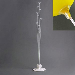 Подставка для воздушных шаров, 11 палочек и держателей