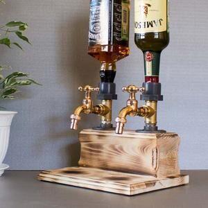 Диспенсер для виски на 2 крана