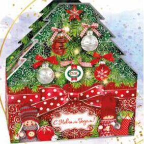 Новогодние подарки от Приморского Кондитера — Новогодние подарки