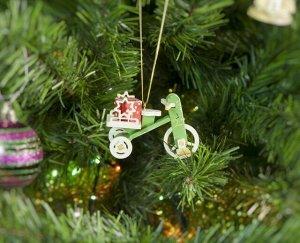 Детский велосипед с багажником 6017 Star