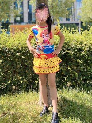 Платье ОГ 58см, длина 54см
