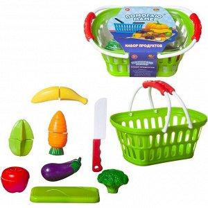 Игровой набор ABtoys Помогаю маме Продукты для резки на липучках 15 предметов897