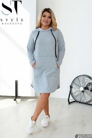Платье-худи 70582