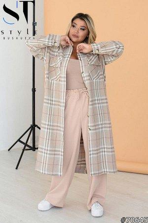 Пальто-рубашка 70645