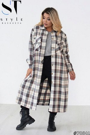 Пальто-рубашка 70641