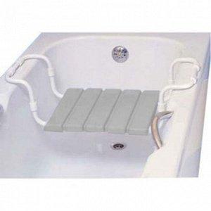 Сидение для ванной Арт. 1701 серое
