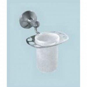A084 Держатель для зубных щеток,монтажный,стакан стекло