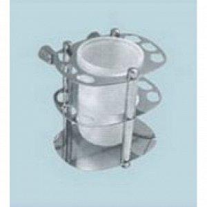 A087 Подставка для зубных щеток,монтажный,стакан стекло