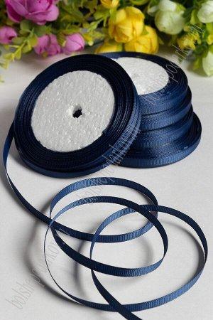 Лента репсовая 0,6 см SF-1722, темно-синий №38