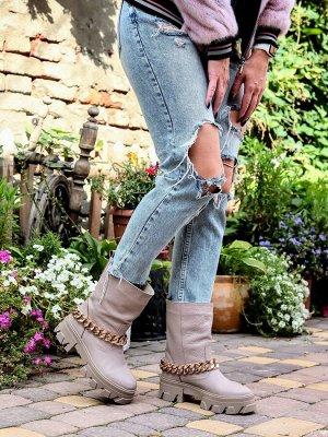 Ботинки Д3 визон зима