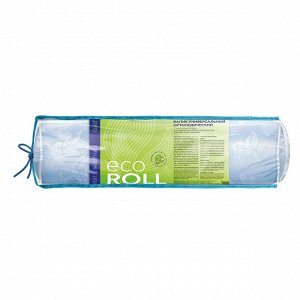 1 шт.* Валик универсальный ортопедический ECO Roll с наполнителем из нативных лепестков лузги алтайской гречихи