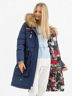 Двустороннее пальто для девочек (био-пух) JAN STEEN