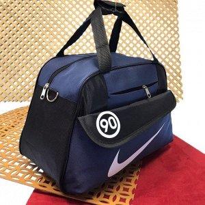 Спортивная сумка Fitness Coach с плечевым ремнём со вставками тёплого синего цвета.
