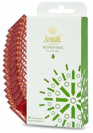 Классические презервативы AMOR Nature - 15 шт.